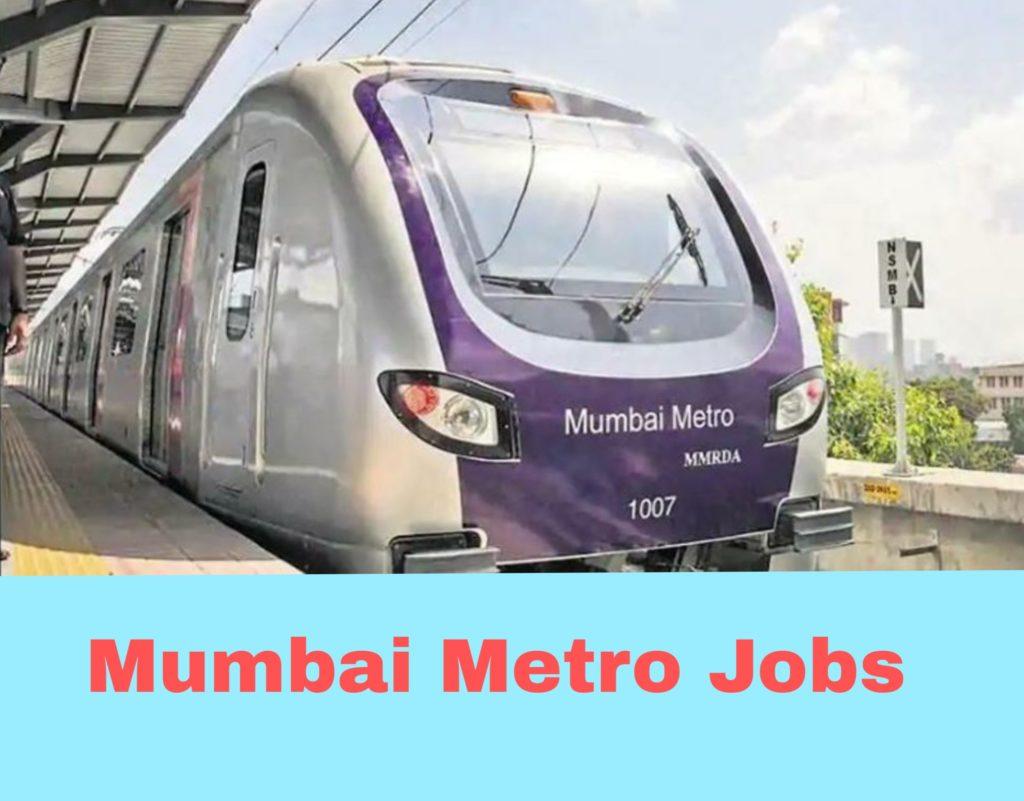 MUMBAI METRO recruitment 2019