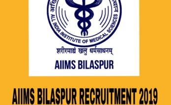AIIMS BILASPUR RECRUITMENT 2019