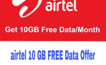 Airtel 10 GB Free Data Missed Call Number