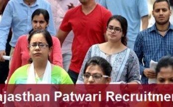RSMSSB Patwari Recruitment 2020